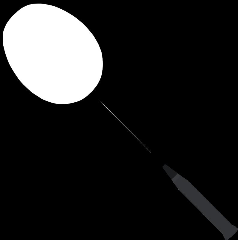 Free Clipart: Badminton racket.