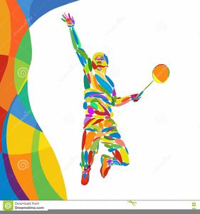 Badminton Clipart Images.