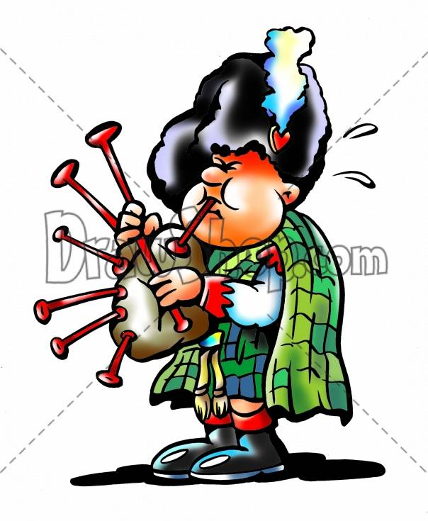 Showing post & media for Cartoon bagpiper.