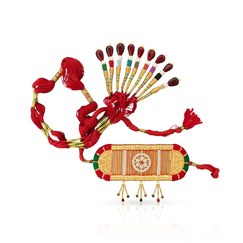 Rajasthani Rajput Malabar Gold Rajputi Baju Band TTRDBIT00108.