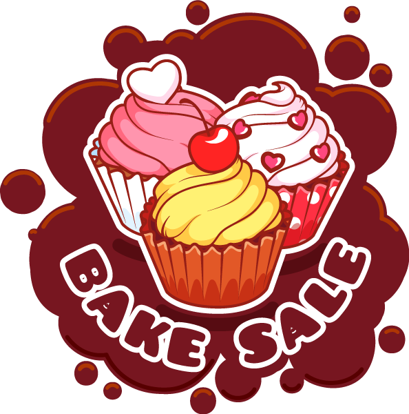 May clipart bake sale, May bake sale Transparent FREE for.