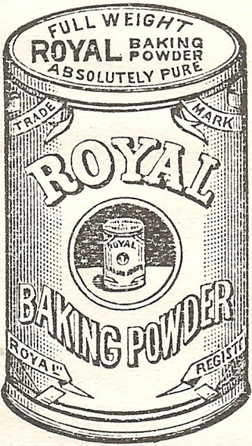 Royalty Free Antique Graphic/Royal Baking Powder Advertisement.
