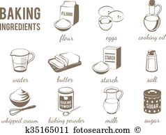 Baking powder Clip Art EPS Images. 394 baking powder clipart.