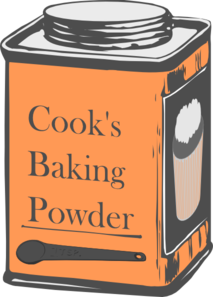Clipart Baking Powder.