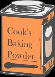 Clipart Baking Powder.