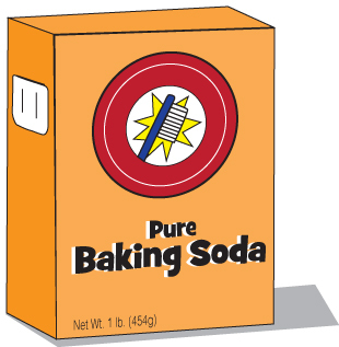 Vinegar And Baking Soda Clipart.