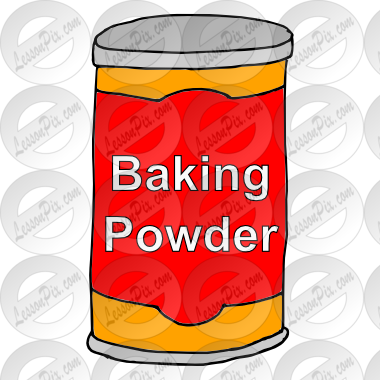 Baking Powder Picture for Classroom / Therapy Use.