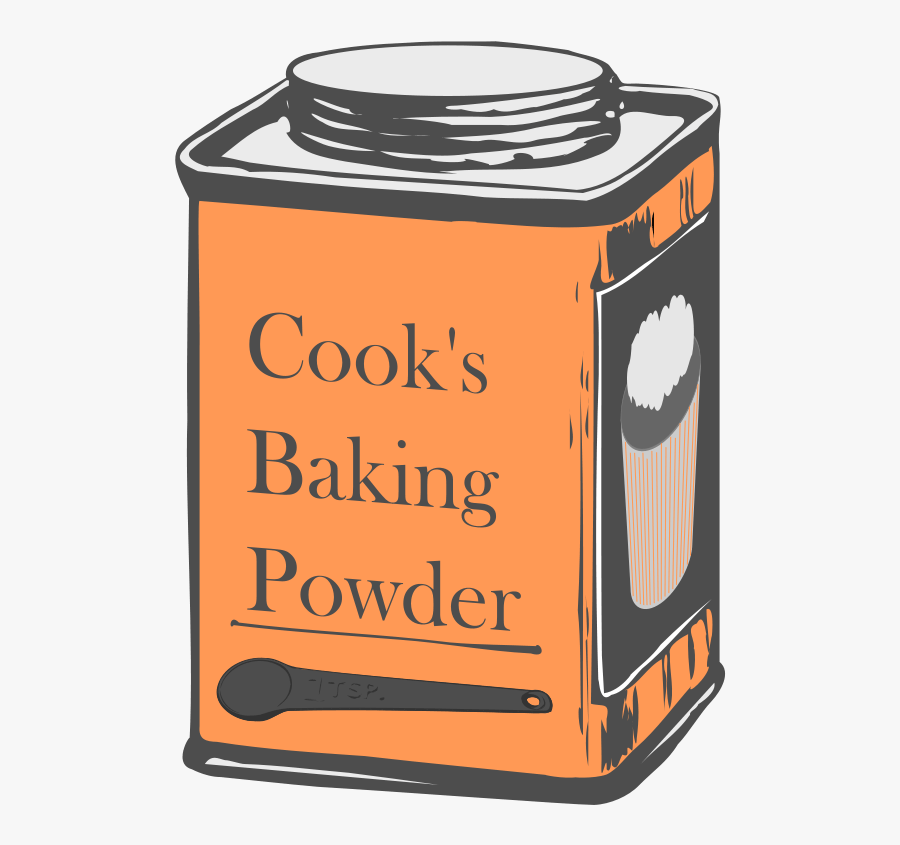 Baking Soda Clipart.