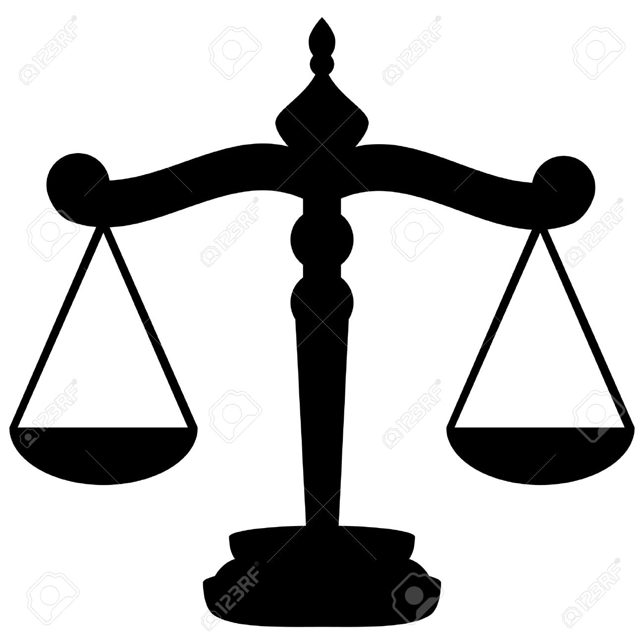 Scales Of Justice Royalty Free Cliparts, Vectors, And Stock.