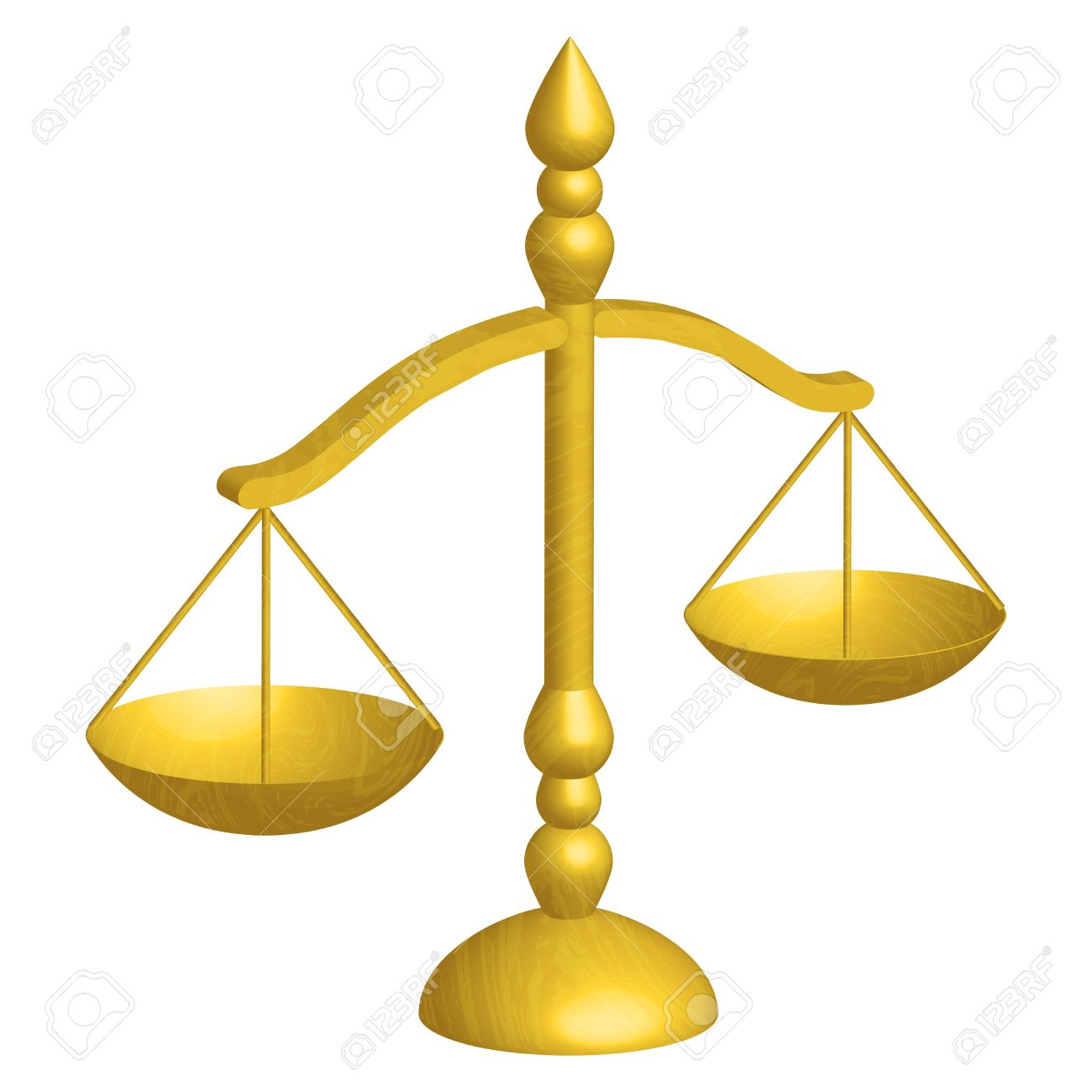 Illustration Of Justice Scales Royalty Free Cliparts, Vectors, And.