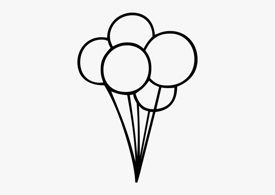 Ballon Drawing Birthday Balloon Transparent Png Clipart.