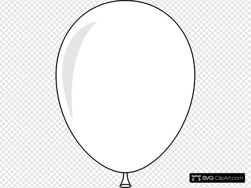 Balloon Clip art, Icon and SVG.