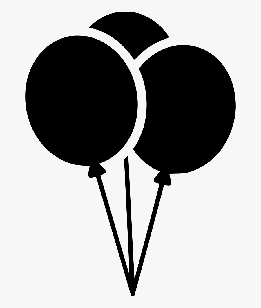 Clipart Balloons Black And White.