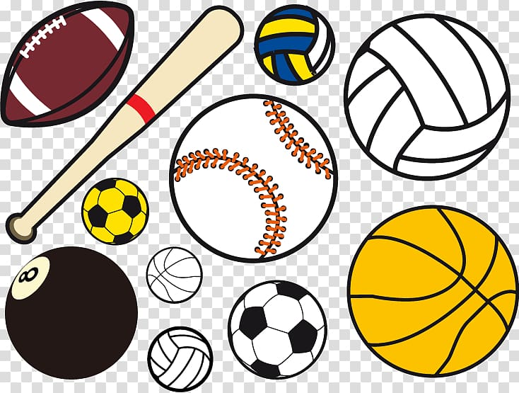 Ball game Sport , ball games transparent background PNG.
