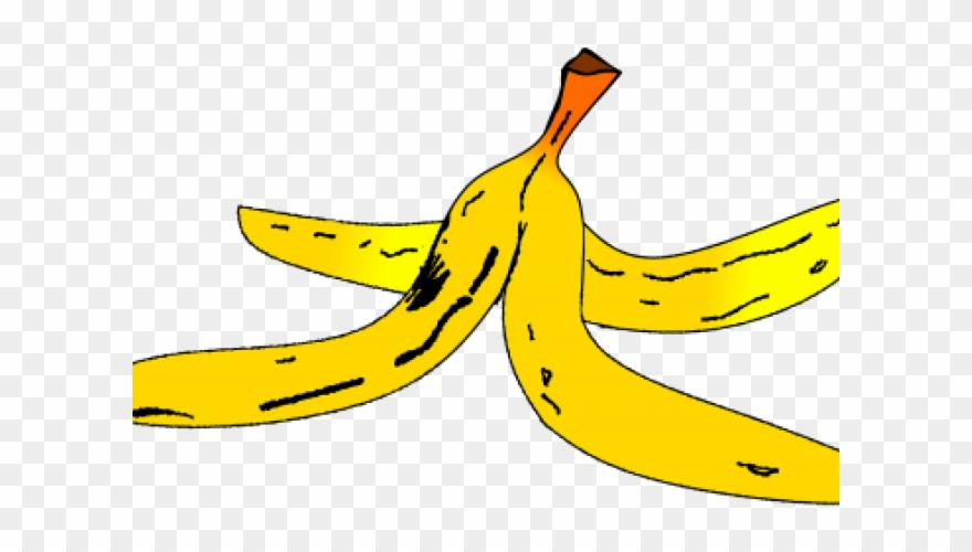 Svg Library Download Banana Peel Clipart.