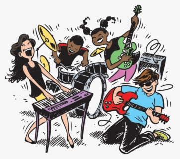 Free Band Clip Art with No Background.
