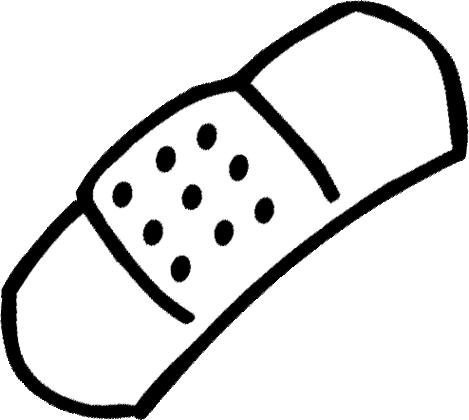 Band Aid Clip Art.