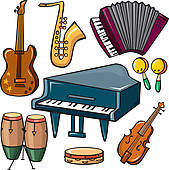 Band instruments clipart 2 » Clipart Station.