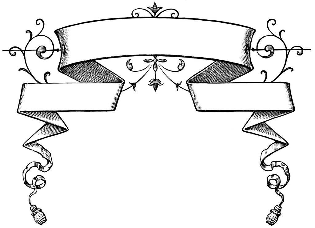 Banderole clipart 6 » Clipart Station.
