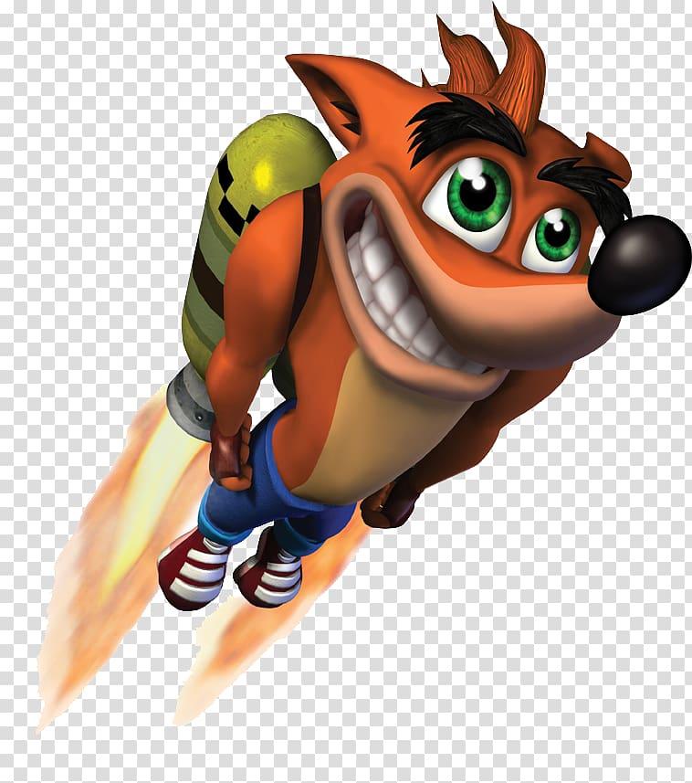 Crash: Mind over Mutant Crash Bandicoot: The Huge Adventure.