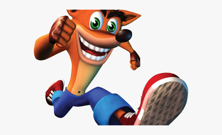 Crash Bandicoot Clipart.