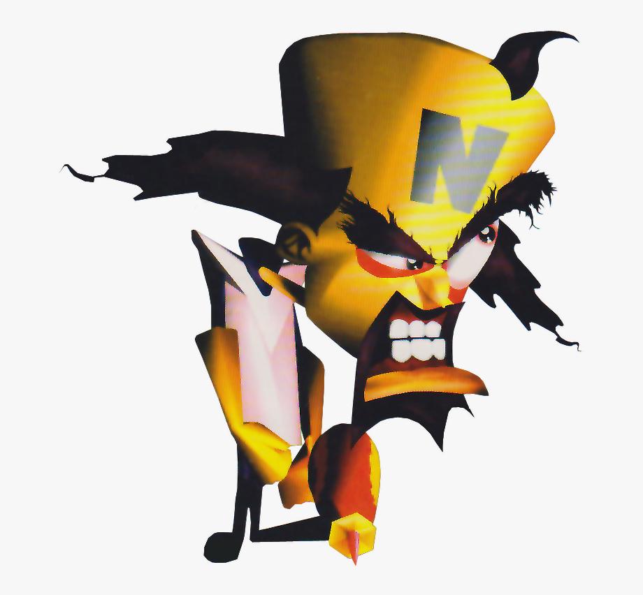 Dr Neo Cortex Crash Bandicoot 1 , Transparent Cartoon, Free.