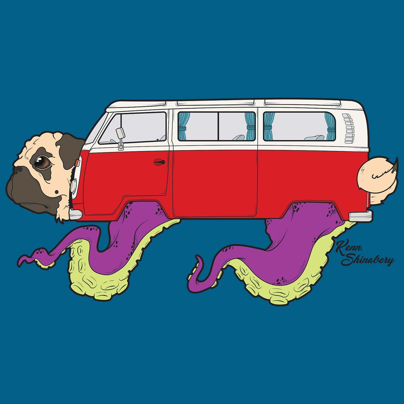 Pugsta Van on Behance.