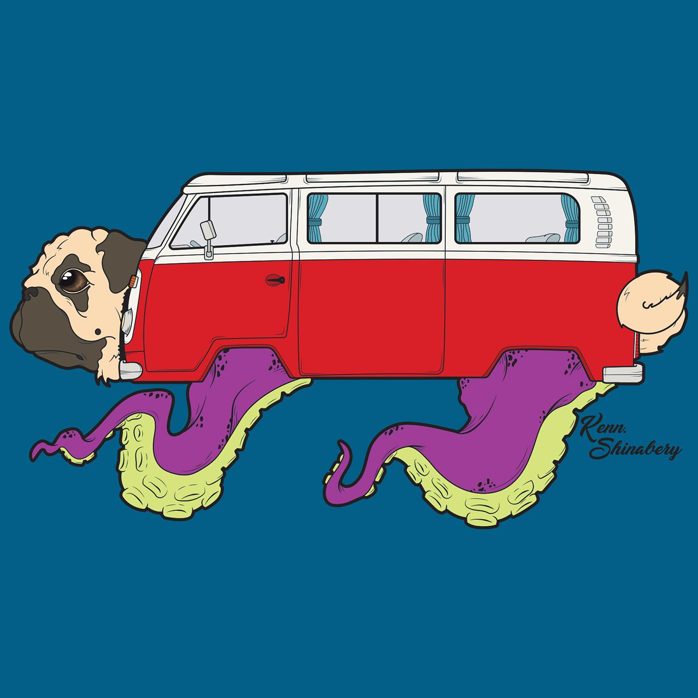 Pugsta Van on Behance.