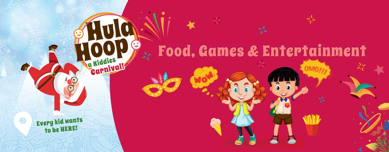 HulaHoop Kids Carnival exhibitions Event Tickets Pune.