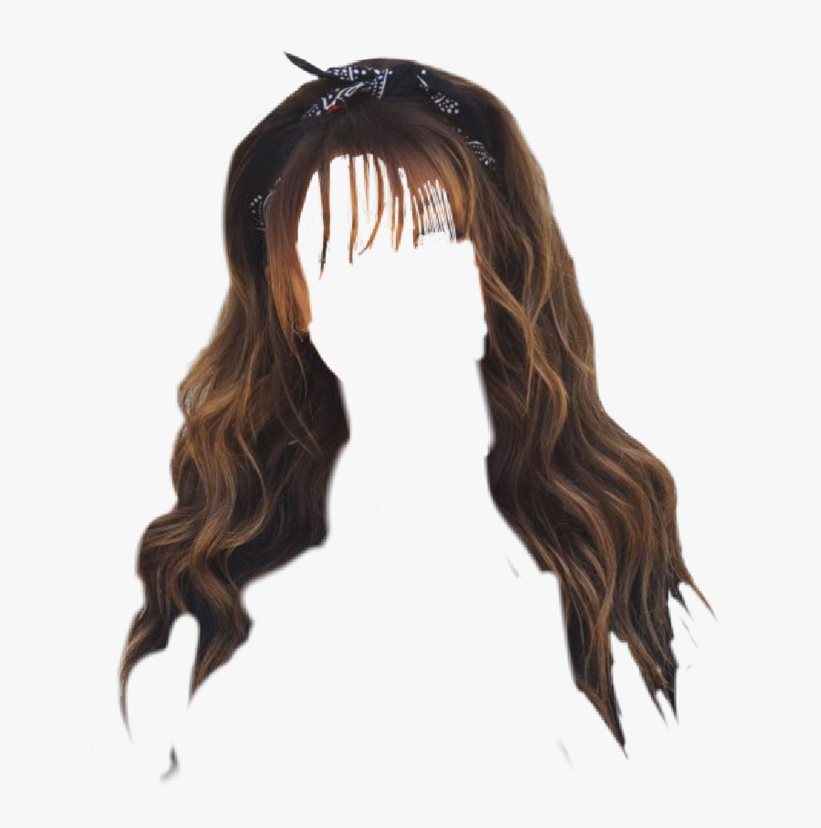 Wispy Bangs With Thick Hair , Free Transparent Clipart.