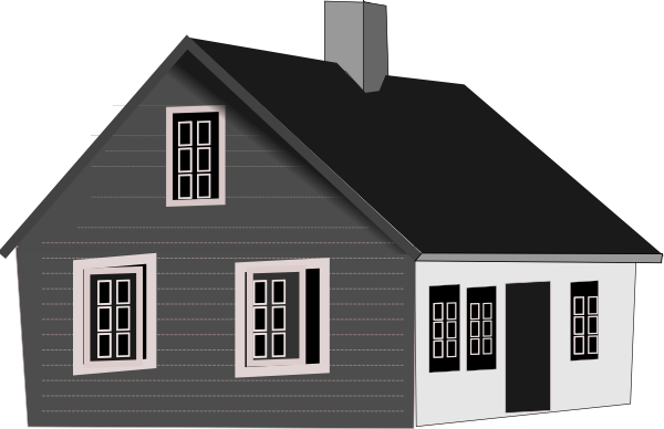 Cape Code House Clip Art at Clker.com.