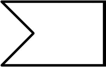 Banner Flag Clipart Graphics / Ribbon Journal Flag Tabs.