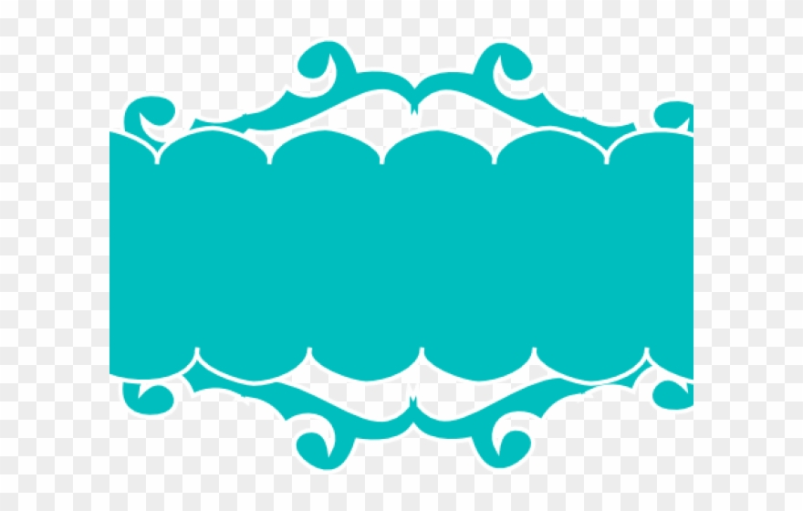Turquoise Clipart Banner.