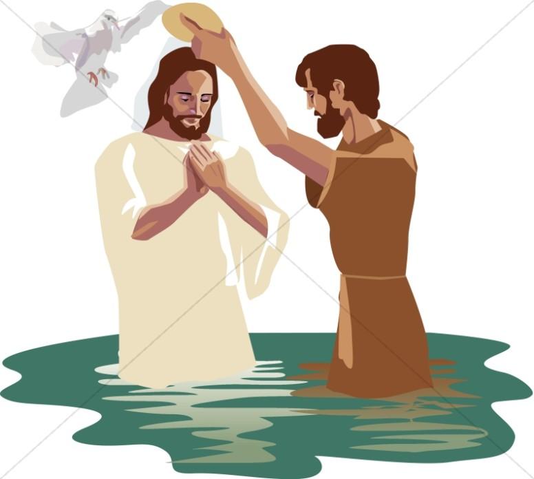Baptism of jesus clipart 4 » Clipart Station.
