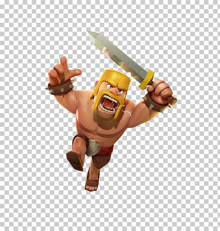 Clash of Clans Clash Royale Barbarian , clash royal PNG.
