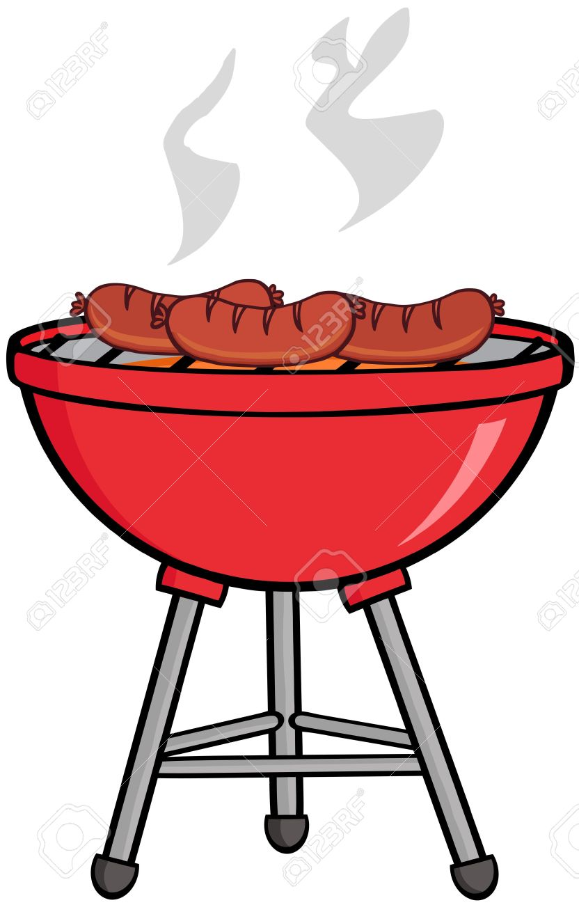 962 Barbecue free clipart.