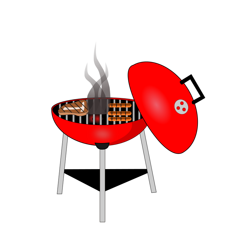 Red clipart bbq grill, Red bbq grill Transparent FREE for download.