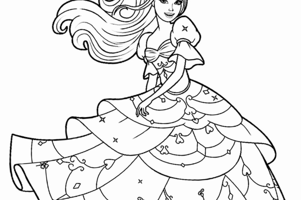 Barbie doll coloring pages Beautiful Barbie Clipart Coloring Sheets.