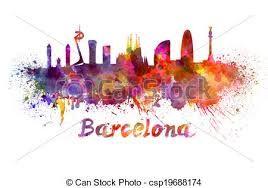 barcelona clipart.