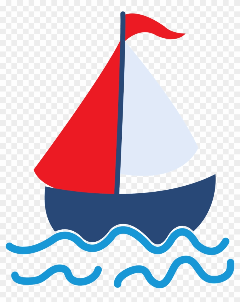 Image Free Stock Nautical Sailboat Clipart.