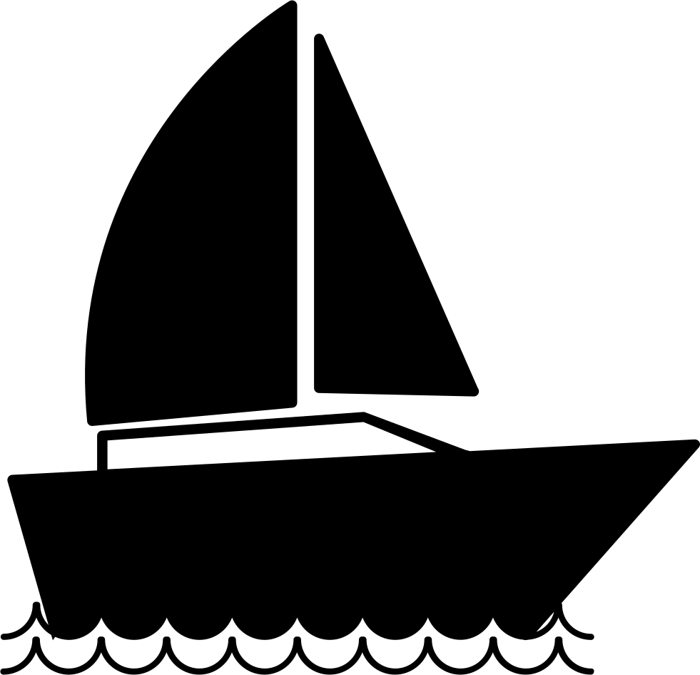 Sail Boat Sailing Comments Smbolo De Barco Png.