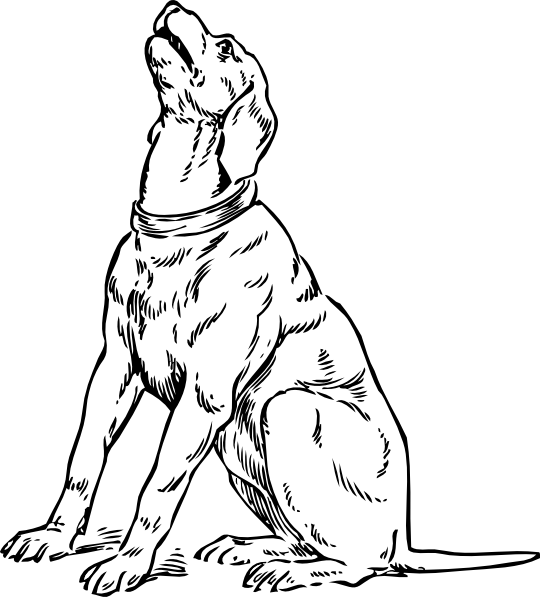 Barking Dog Clip Art at Clker.com.