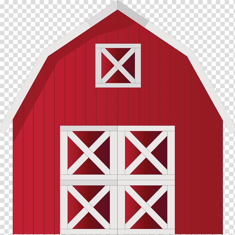 Red and white barn illustration, Barn Farm , barn.