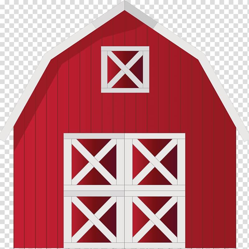 Red and white barn illustration, Barn Farm , barn.