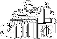 Barn clipart black and white 1 » Clipart Station.
