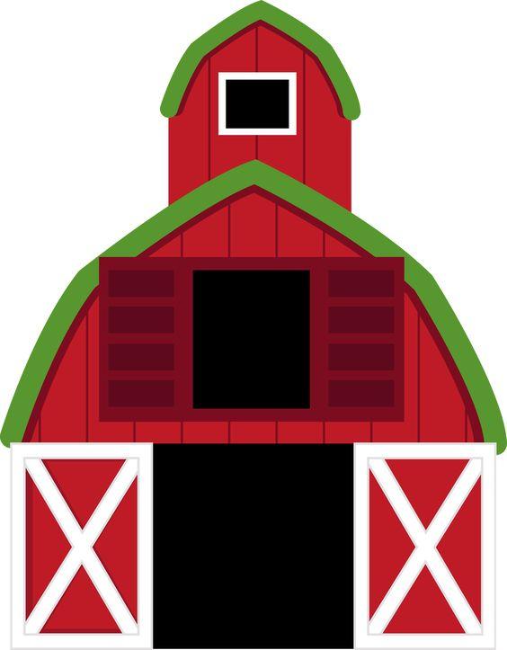 Funny Farm Barns And Clip Art On Pinterest.