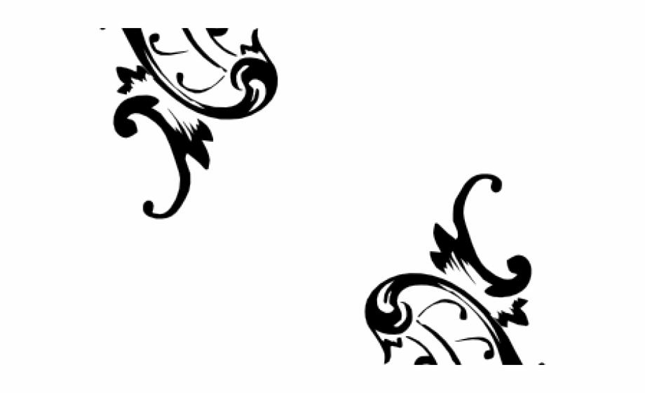 Ornamental Clipart Vector.