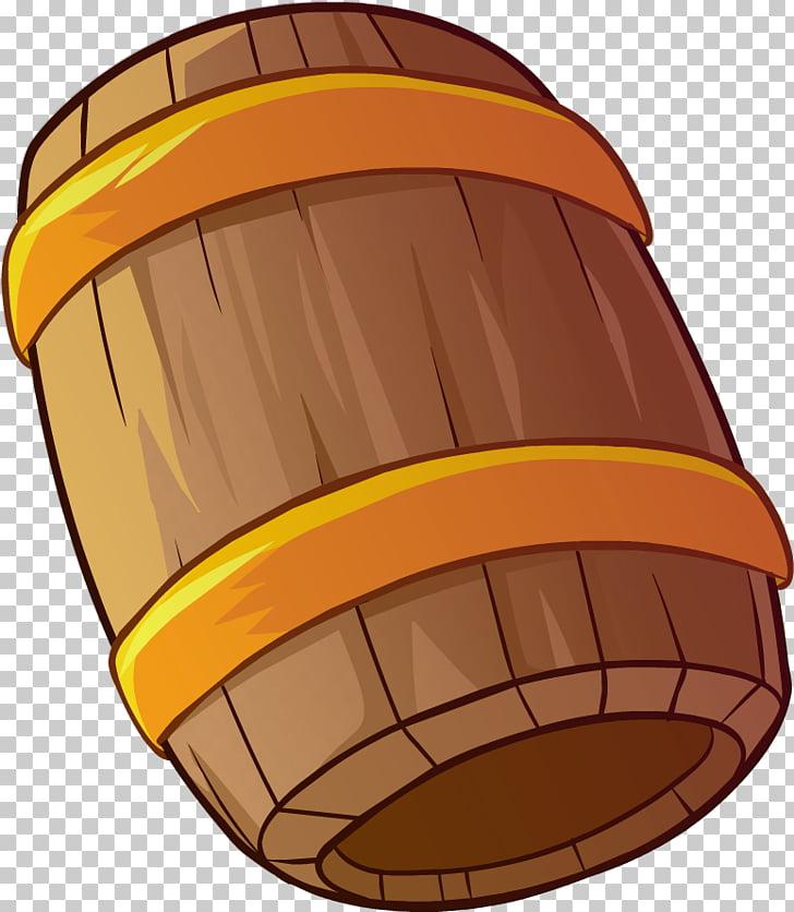 Club Penguin Orange S.A., barril PNG clipart.