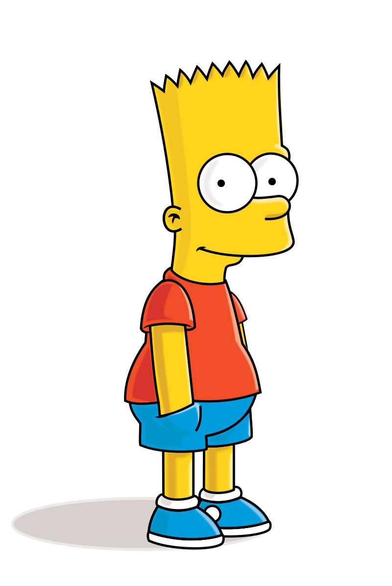Bart Simpson Clipart & Free Bart Simpson Clipart.png.