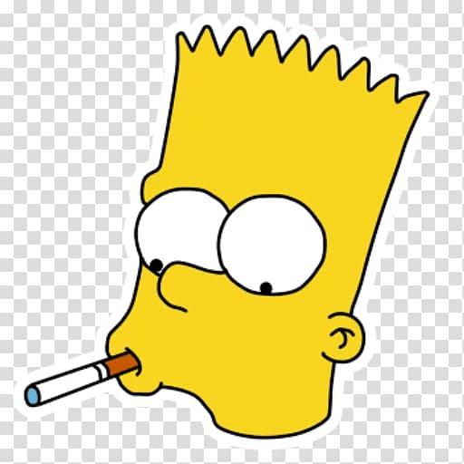 Bart Simpson Sticker Telegram Cartoon , Bart Simpson.